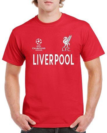 Фен тениска на Liverpool!Футболна тениска Ливърпул Шампионска лига!