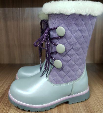 Распродажа зимней обуви из натуральной кожи и меха