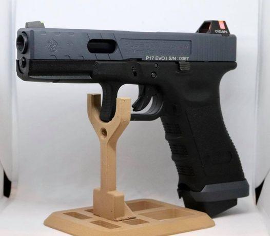 ~MODEL NOU~!! Pistol Glock Airsoft Semi-Automat (MODIFICAT) Co2 Gaz