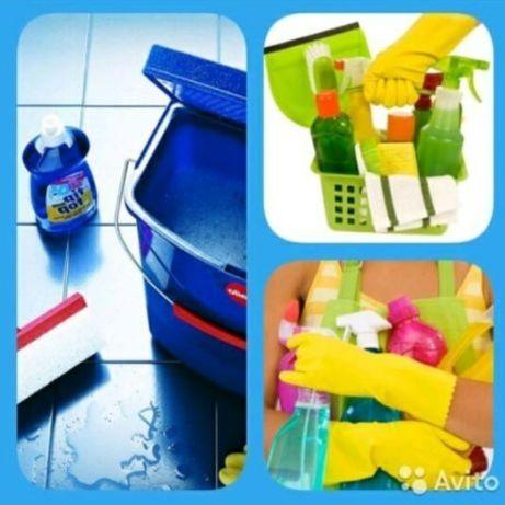 Клининговые услуги. Уборка квартир, домов и офисных помещений.Астана