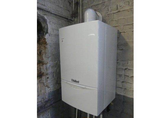 Cazan de perete pe gaz in condensare Ecotech Plus VALIANT 40kw