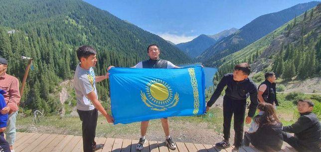 рк флаг казакстан