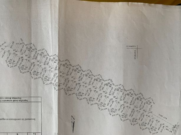 Teren intravilan sat izvoare - 81 loturi (422-664 mp fiecare)