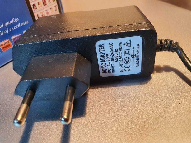 Зарядка адаптор для радио телефонов, блок питания 6.5V-500mA