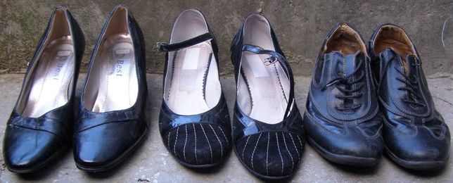 Pantofi piele naturala veritabila, dama sau schimb
