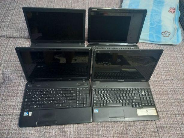 Ноутбуки разных моделей для учёбы и офиса