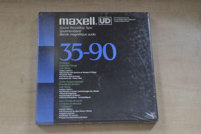 Benzi magnetofon Maxell 35-90B UD sigilate