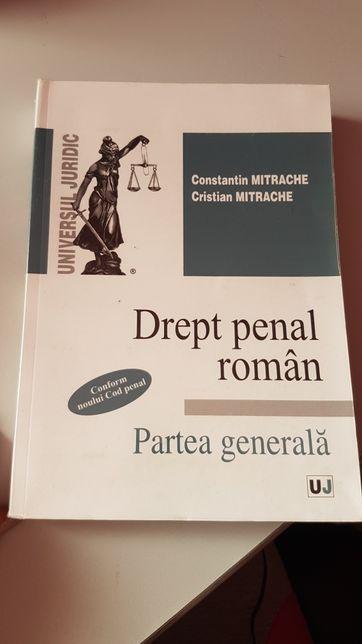 Drept penal roman. Partea generala - Mitrache