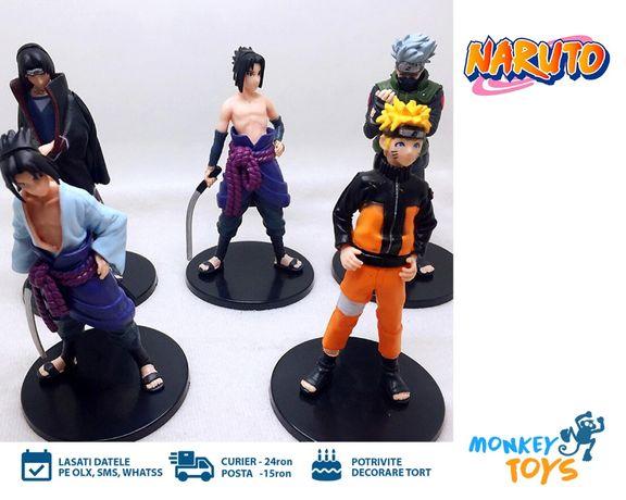 Set 5 figurine / Jucarii Naruto, Sasuke, Itachi