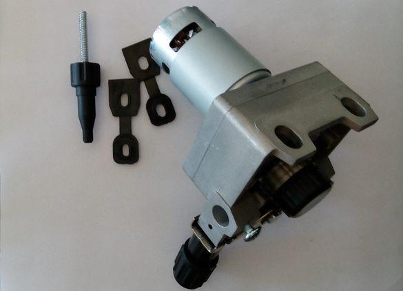 Мотор редуктор за телоподаващо 24 Волта 30 Вата