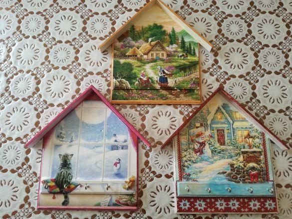 Къщички за ключове, Кутии и Свещници