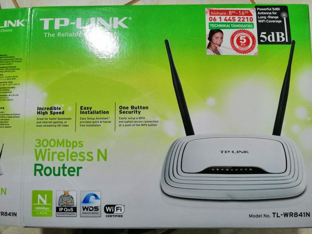 Router TP-LINK 300Mbps 49.99lei.