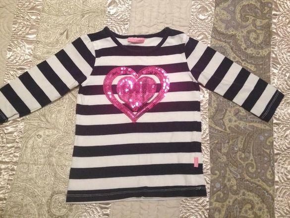 Детска блуза LC Walkiki със сърце за 3-4 годишно момиченце