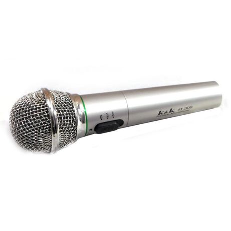 Microfon wireless unidirectional AT-309, emisie FM/VHF