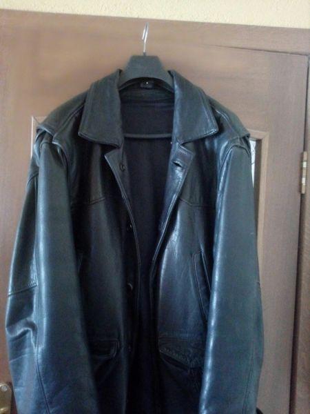Мъжко сако естествена кожа с. Плачидол - image 1