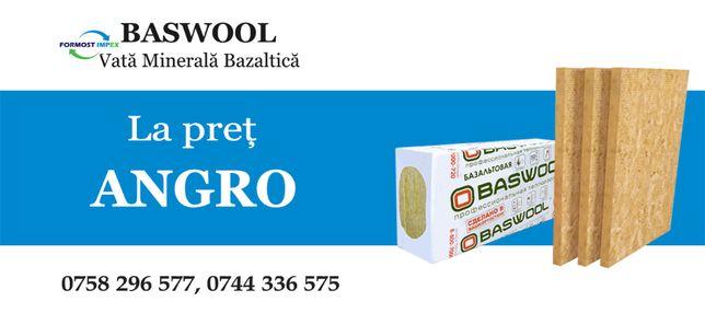 Vata Minerala Bazaltica - ANGRO/De la 11,39 lei/m2, Minim: 1 Camion