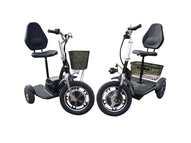 -50% promotie , tricicleta trotineta electrica, nou, 3 Ani garantie