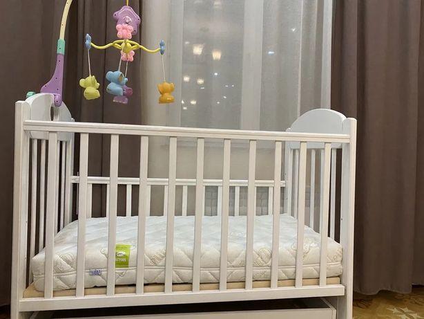 Кровать детская из берёзы