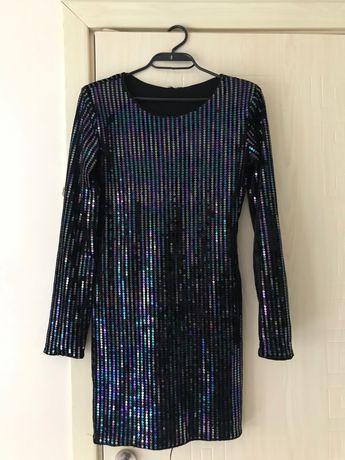 Вечерна рокля с пайети