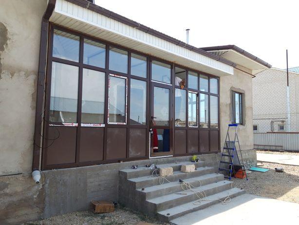 Алюминиевые Двери . Алюминиевые окна. Межофисные перегородки.