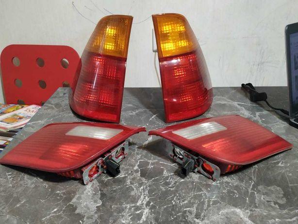 комплект фонарей bmw x5 e53 все 4