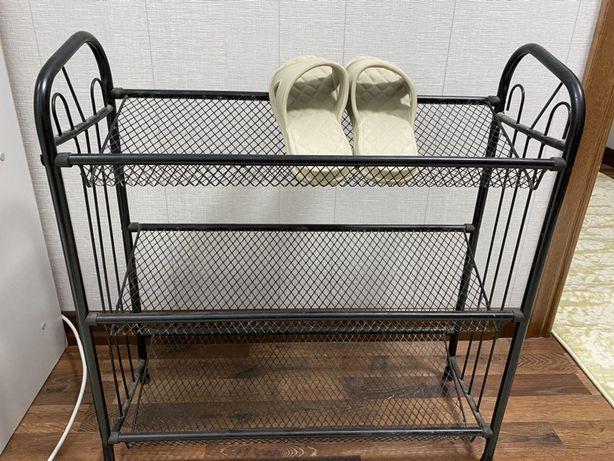 Полка для обуви металическая