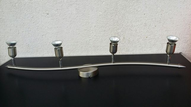 Lustra - aplica - inox - 4 - becuri - brate