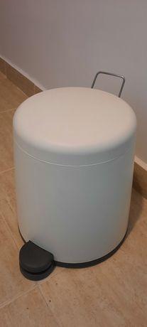 SNÄPP  Coş cu pedală, alb 5 l (Ikea)