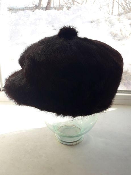 Норковая кепка муржская
