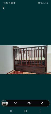 Продам манеж кровать кочалка