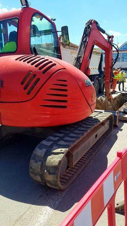 Inchiriez excavator miniexcavator JCB sapaturi, canalizari, fundatii