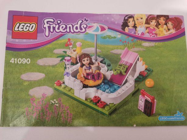LEGO Friends Piscina din grădina Oliviei 41090