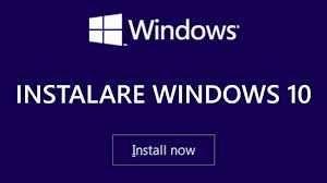 Instalare Windows 10 - Reparatii calculatoare / laptopuri - Imprimante