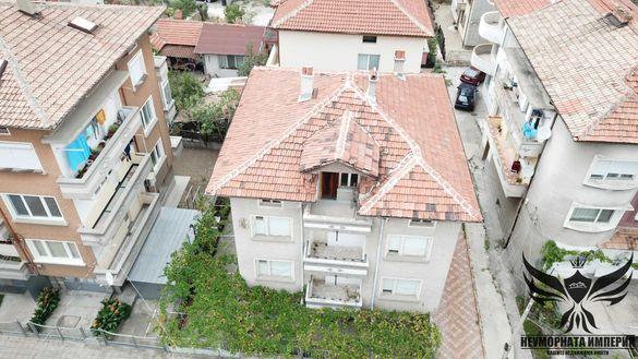Продавам триетажна къща 285РЗП и 232кв. двор-гр.Асеновград, кв.Зъбчето