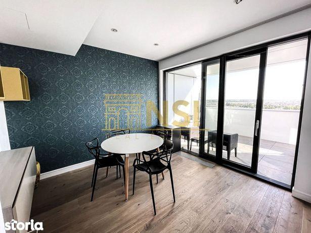 Apartament cu 3 camere // Ultimul etaj // Cortina Residence