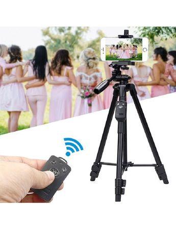 Штатив Yunteng для телефона, камеры 125 см + bluetooth пульт + чехол