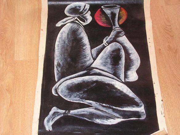 Африкански стил -оригинални картини върху платно