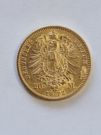 Moneda aur 20 mărci 1872
