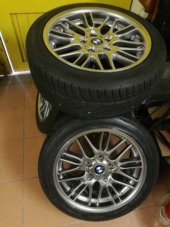"""Алуминиеви джанти 17"""" 5х120 с гуми - М серия БМВ"""