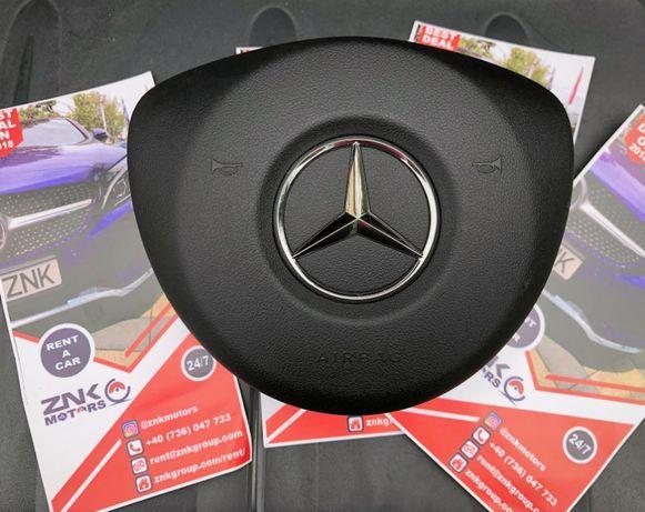 Mercedes Benz W205 c class airbag volan pasager cortina stanga dreapta