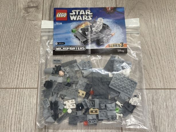 Lego 75126 / Star Wars microfighters