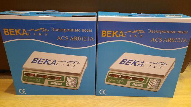 Весы Beka ACS AR0121A новые с гарантией