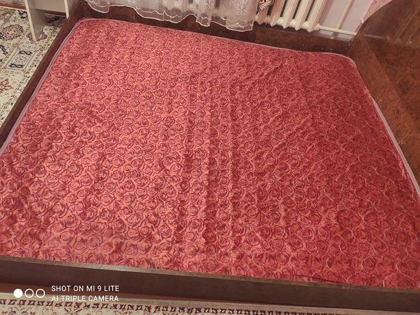 Двухспальный кровать с матрасом