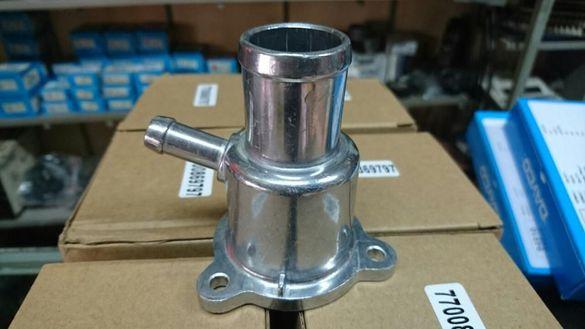 алуминиев корпус фланец термостат дачия логан,сандеро и рено 1.4/1.6