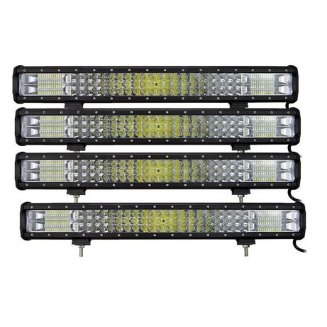 [OFERTA] Bara LED 59 cm 375W - 12/24V - Offroad SUV 4X4 - LED BAR ATV