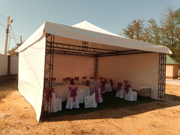 Аренда. Прокат шатров , палатки , газон в Чимкенте.
