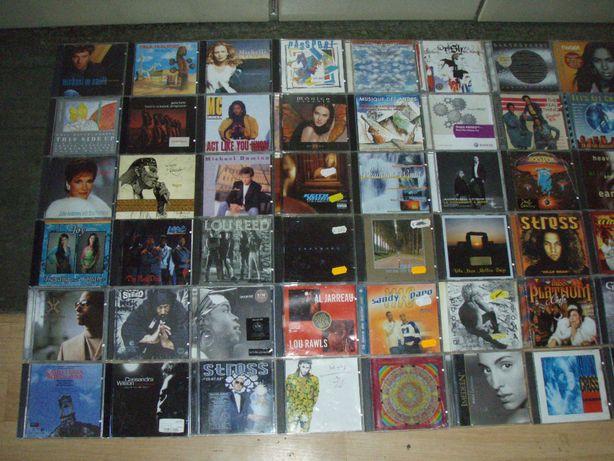 CD audio cu diferite genuri muzicale si artisti, setul doi