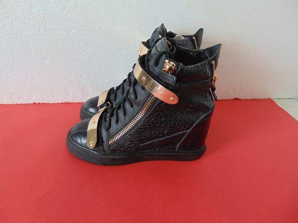 Giuseppe Zanotti номер 37 Оригинални дамски обувки на платформа