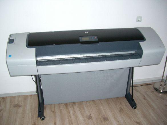 Широкоформатен принтер HP DesignJet T1100
