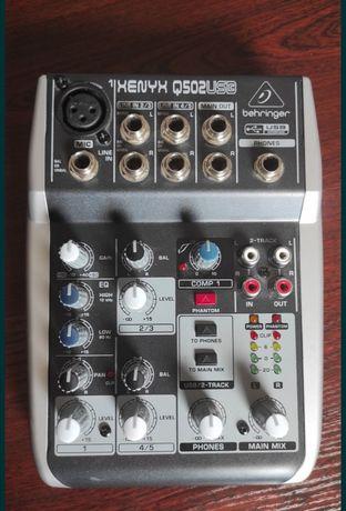 Продам микшерный пульт Behringer XENYX Q502